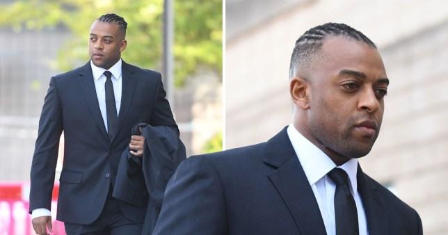 JLS' Oritse Williams arrives at Wolverhampton court for rape