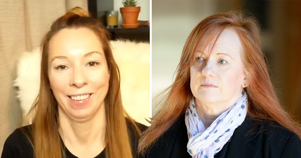Profile photos of Meghan Murphy, founder of Feminist Current and Scottish MP Joan McAlpine
