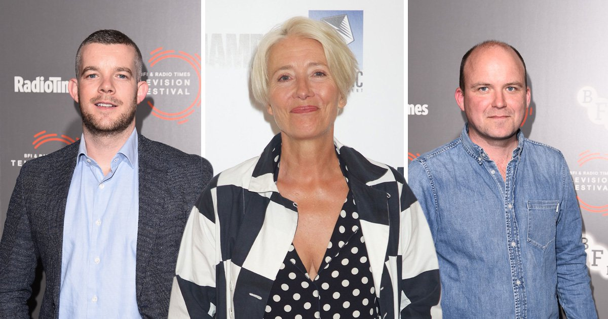 Russell Tovey, Emma Thompson and Rory Kinnear