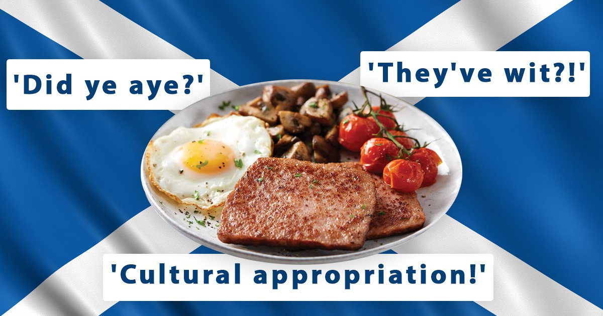 Aldi's 'sausedge' has got reactions for appropriating the Scottish square sausage