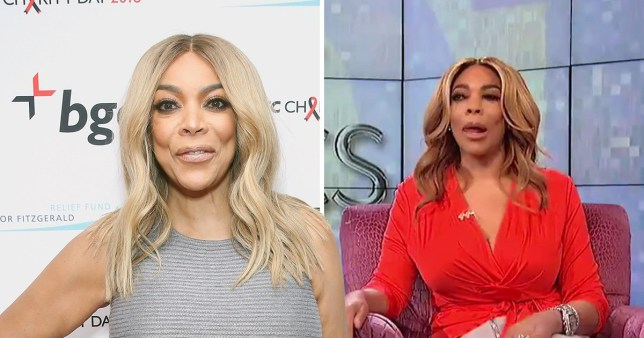 Wendy Williams on her show