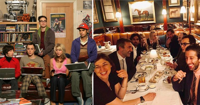 The Big Bang Theory cast enjoy dinner in Los Angeles,