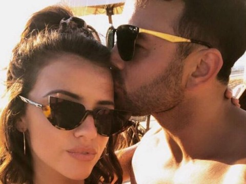 Lucy Mecklenburgh and Ryan Thomas look smitten during romantic Greek getaway