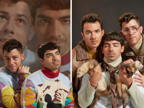 The Jonas Brothers embody all of our cringiest family portrait memories in geek chic Paper shoot