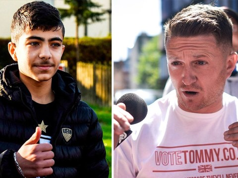 Tommy Robinson sued for libel by 'waterboarded' schoolboy he accused of assault