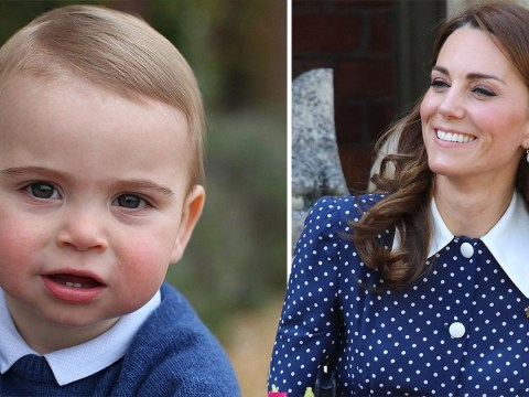 Kate hints Prince Louis is walking and she can't keep up