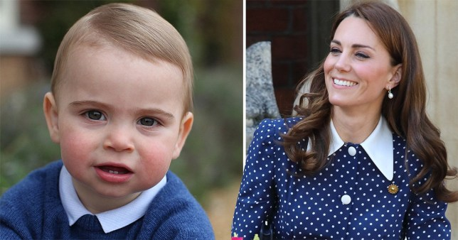 SEC_67594485 Kate hints Prince Louis is walking and she can't keep up