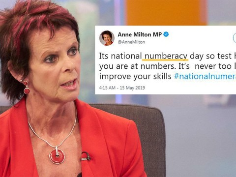 Tory Minister for Education and Skills is not a skilled speller
