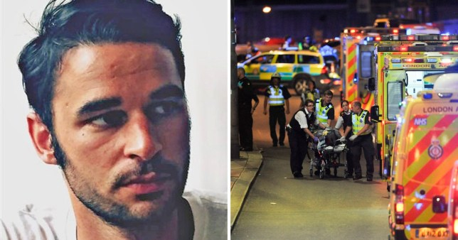 Alexandre Pigeard told an off-duty nurse to run when she tried to help him after he was stabbed by an attacker on London Bridge