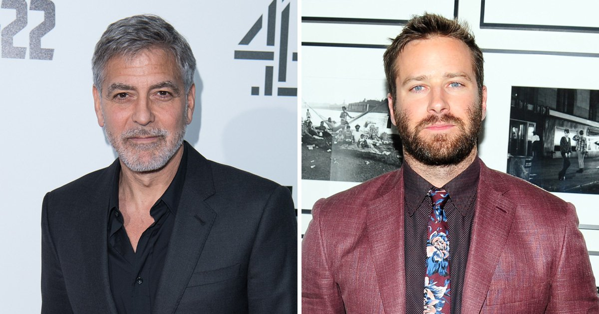 George Clooney supports Armie Hammer for new Batman after Ben Affleck
