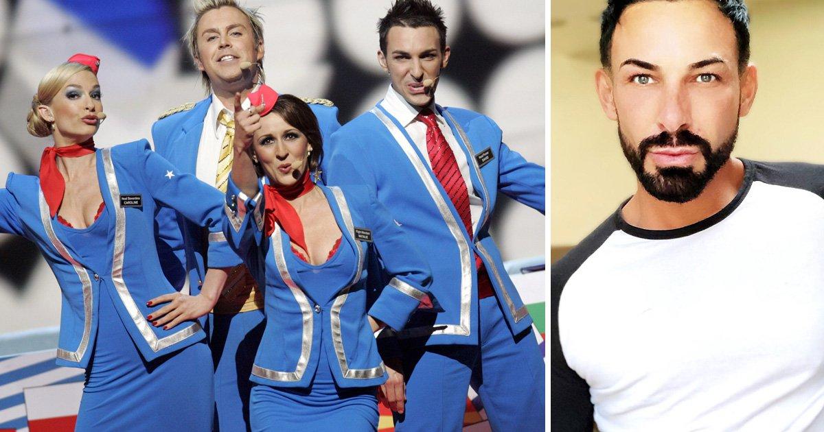 David Ducasse still has his Eurovision 2007 oufit