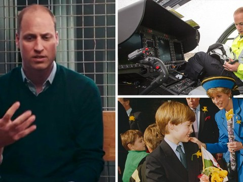 Prince William says losing his mother Diana was 'a pain like no other pain'