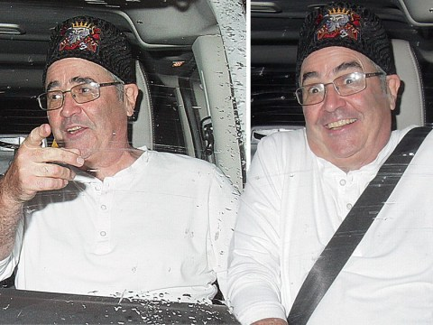 Danny Baker all smiles in first show after 'shamefully racist' Royal Baby tweet as he jokes about 'breaking the internet'