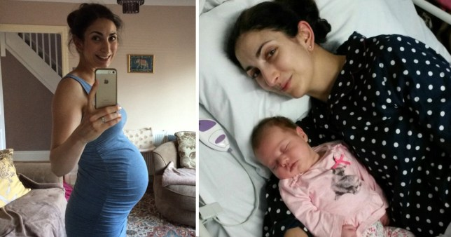 After Diagnosis Then What >> Woman Gives Birth Goes Into Menopause After Bowel Cancer Diagnosis