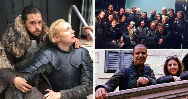 Game Of Thrones cast pay emotional farewells ahead of the season 8 finale.