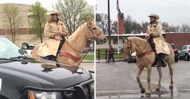 Tristan Phillips, Bill Phillips, Bridger Montana, Horse
