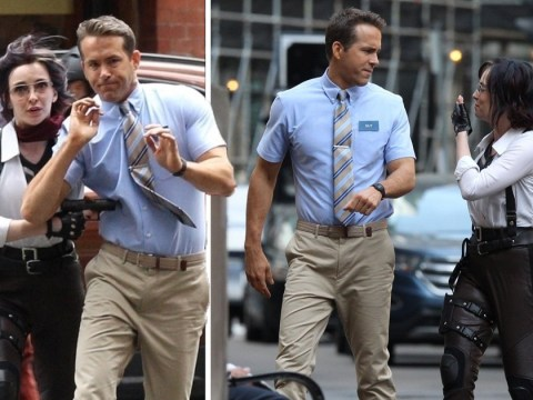 Ryan Reynolds and Killing Eve's Jodie Comer spotted filming video game movie Free Guy in Boston streets