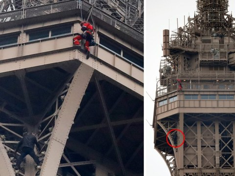 Eiffel Tower closed after man tries to climb it