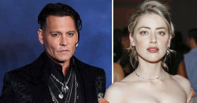 Johnny Depp and ex-wife Amber Heard pictured after their divorce
