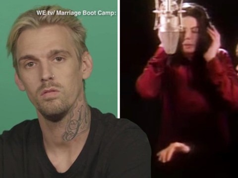 Aaron Carter claims Michael Jackson did one thing that was 'a little bit inappropriate'