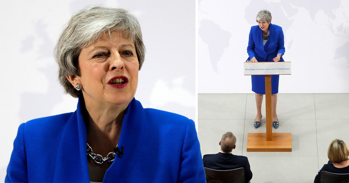 Theresa May says new Brexit deal will include vote on second referendum