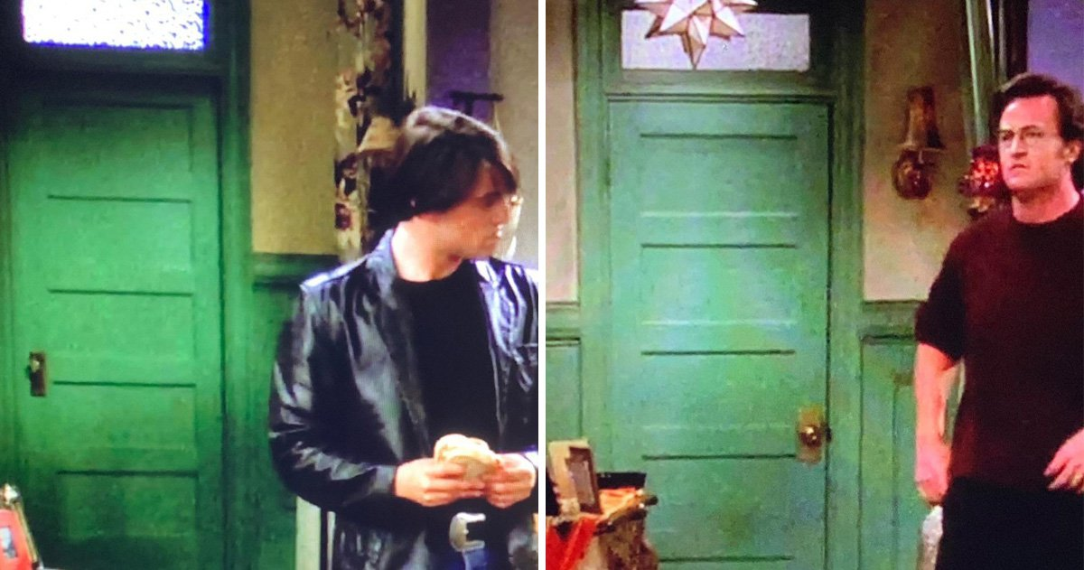Friends viewers spot another gaffe in Monica's door – and we're blaming Richard