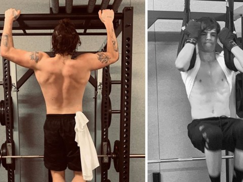Brooklyn Beckham schools little brothers Romeo and Cruz at gym before Cannes Film Festival red carpet