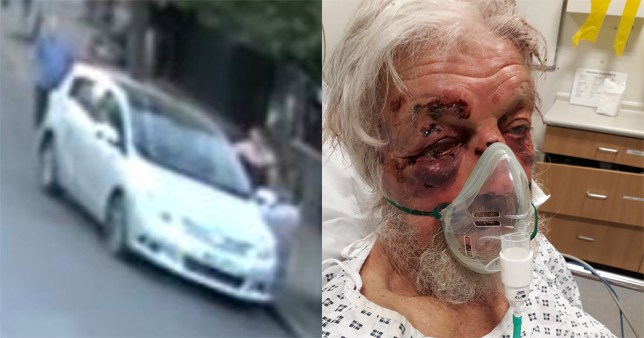 The victim, 80, was attacked in Penge, south London