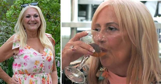 Vanessa Feltz lookalike on First Dates