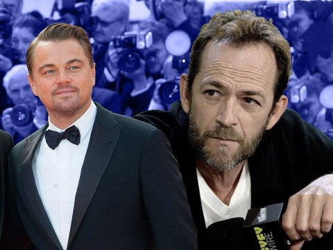 Brad Pitt and Leonardo DiCaprio were starstruck by late Luke Perry on Once Upon a Time in Hollywood set