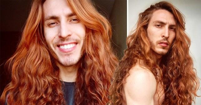 Terrific Man Has Impossibly Beautiful Hair Metro News Schematic Wiring Diagrams Phreekkolirunnerswayorg