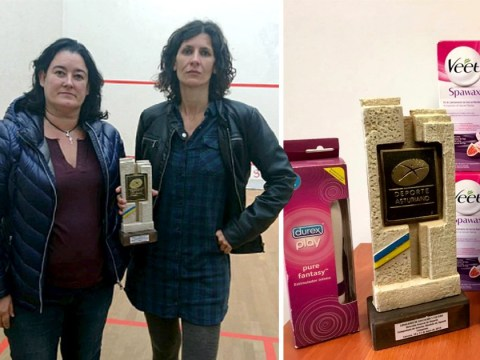 Squash club apologises after awarding female winners with vibrators