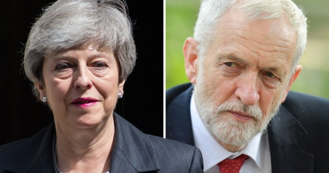 Theresa May and Jeremy Corbyn facing thrashing in EU elections
