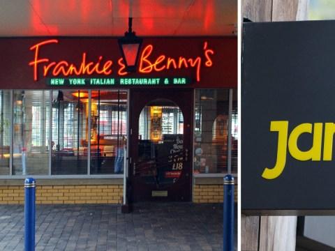 Frankie and Benny's offers interviews to all 1,000 redundant Jamie's Italian staff