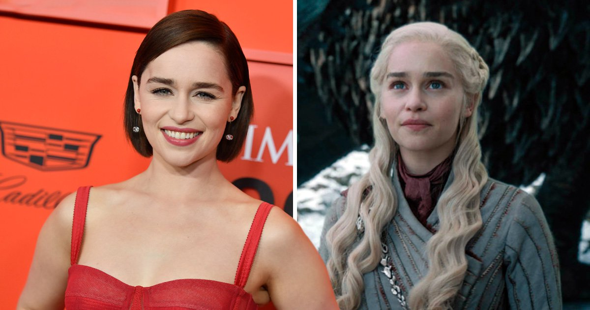 Game Of Thrones star Emilia Clarke thanks Daenerys Targaryen for 'saving my life' after suffering two aneurysms