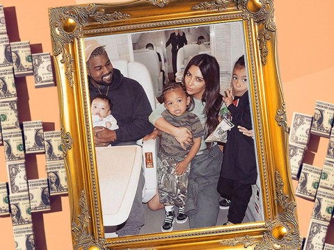 Kim Kardashian and Kanye West 'spending over $1 million a year on childcare'