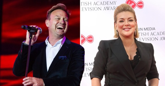 Jason Donovan and Sheridan Smith