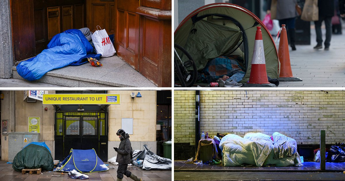 Child homelessness increases by 'shameful' 80% within decade