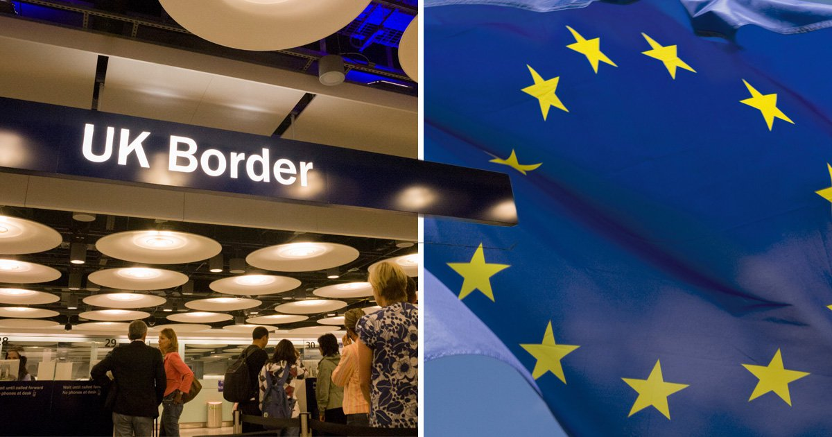 Number of EU nationals falls for first time since records began