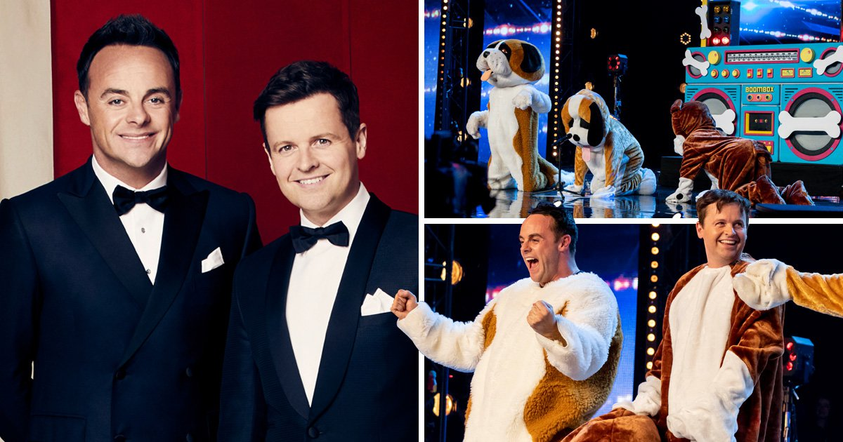 Ant and Dec go undercover as they audition for Britain's Got Talent and leave judges speechless