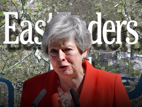 A genius has combined Theresa May's exit with the sad EastEnders music