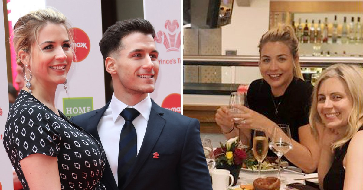 Gemma Atkinson sparks engagement rumours as she shows off ring in new Instagram photo