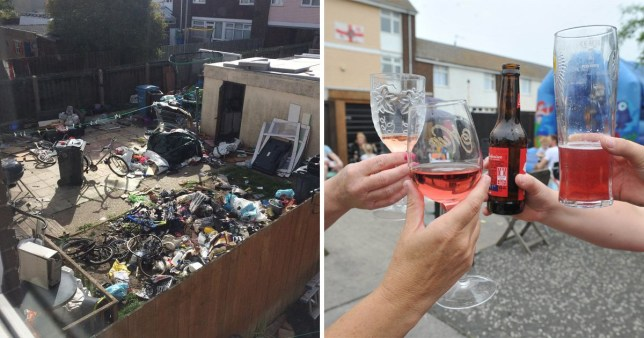 Locals throw street party after neighbour from hell is evicted