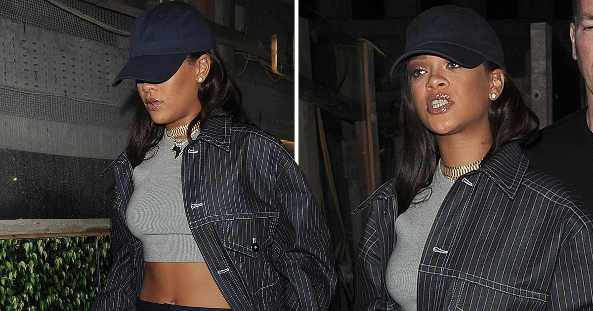 Rihanna hits up London club after sending Navy into overdrive with secret move