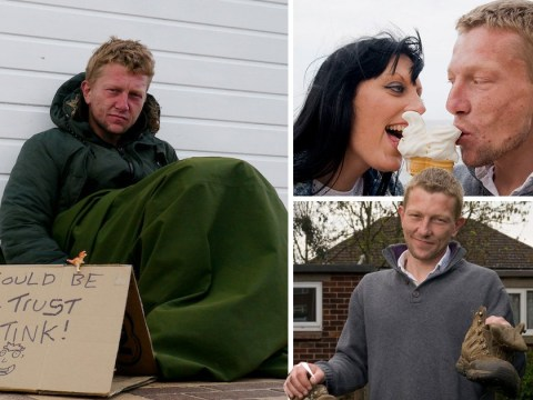 A woman fell in love with a homeless man, picked him off the streets and changed his life