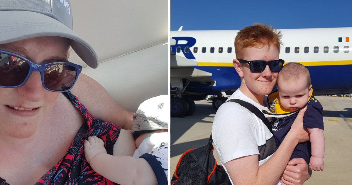 Mum 'told to stop breastfeeding baby by staff on Ryanair flight'