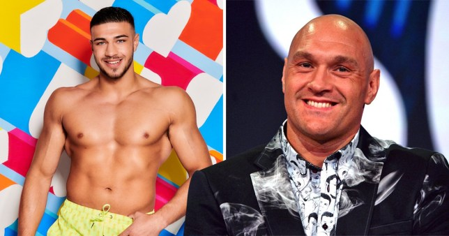 Love Island cast: Tommy Fury refuses to be labelled Tyson's little brother EMBARGOED 21.45