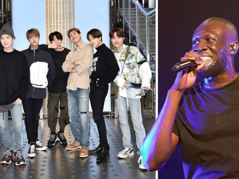 Stormzy wants BTS to 'call him' for collaboration when they arrive in London on Speak Yourself tour