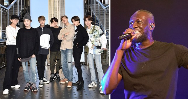 Stormzy Wants BTS To Call Him For Collaboration On London
