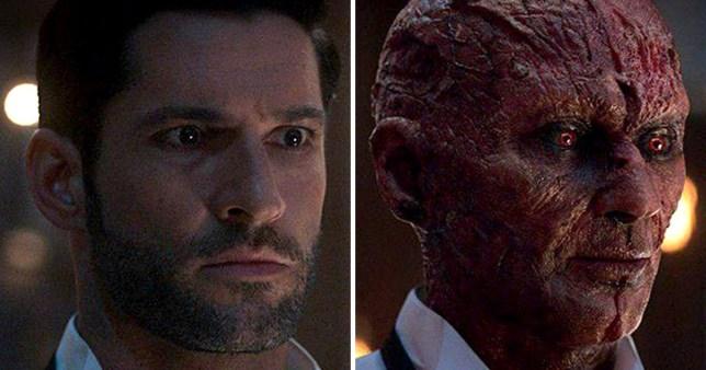 Tom Ellis as Lucifer in Netflix season 4